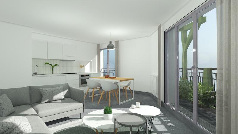 immobilier neuf Rouen cuisine